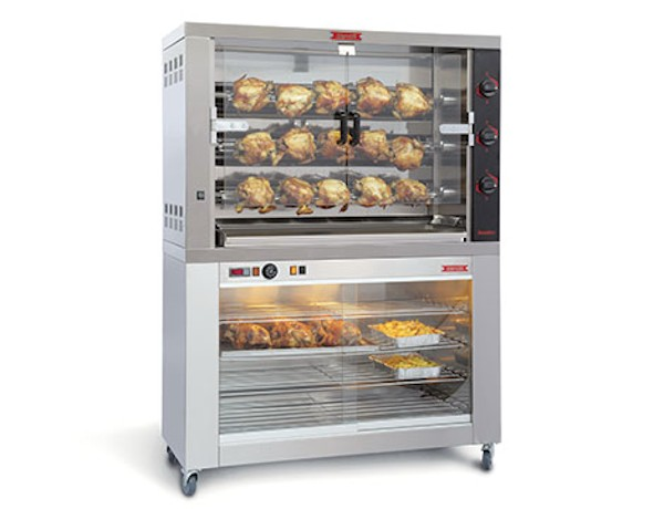 Modular Rack Deck Chicken Pizza Tunnel Bakery Ovens